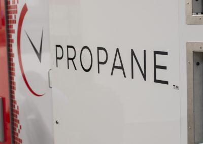 """""""Anytime Propane"""" propane tank machine"""